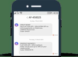 promotional sms-go2market