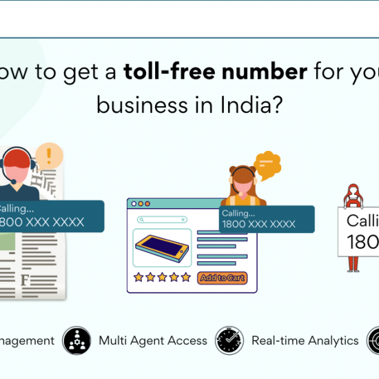 How to get a toll-free number for your business in India?